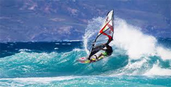 wind surfing extreme